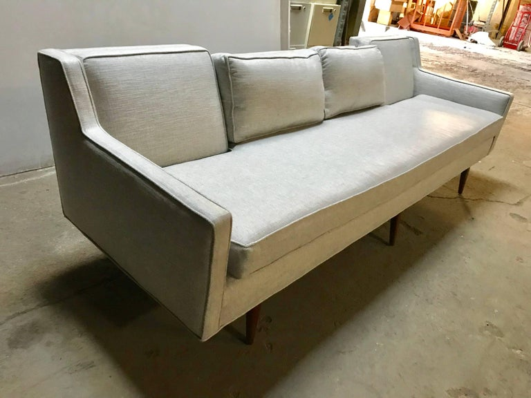 Mid-Century Modern Stunning Gio Ponti for Singer & Sons Four-Seat Sofa For Sale