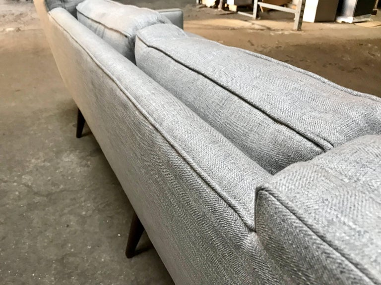 Stunning Gio Ponti for Singer & Sons Four-Seat Sofa In Excellent Condition For Sale In Buffalo, NY