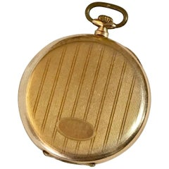 Stunning Gold-Plated Cyma Dress Pocket Watch