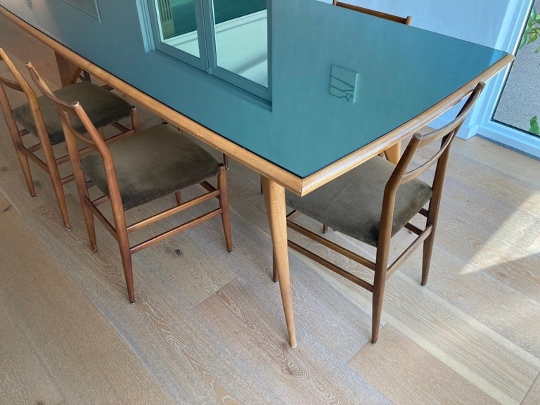 Stunning Italian Dining Table, 1950s For Sale 5