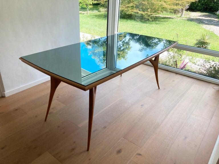 Mid-Century Modern Stunning Italian Dining Table, 1950s For Sale