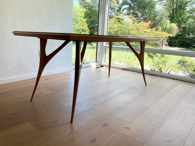 Stunning Italian Dining Table, 1950s In Good Condition For Sale In Opa Locka, FL
