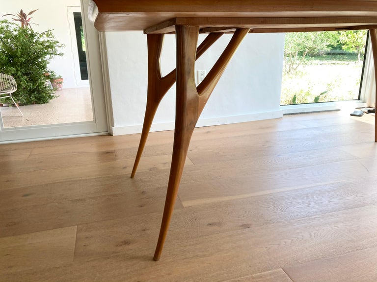 Mid-20th Century Stunning Italian Dining Table, 1950s For Sale