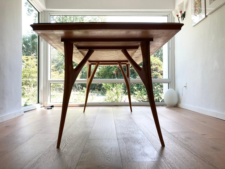 Stunning Italian Dining Table, 1950s For Sale 2