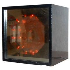 STUNNING KINETIC LIGHT BOX , SIGNED
