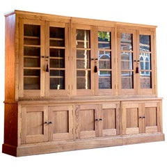 Stunning Large Apothecary Bookcase Display Cabinet, Late 20th Century