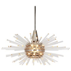 """Stunning Large """"Miracle"""" Chandelier by Bakalowits, Austria, Vienna, 1960s"""