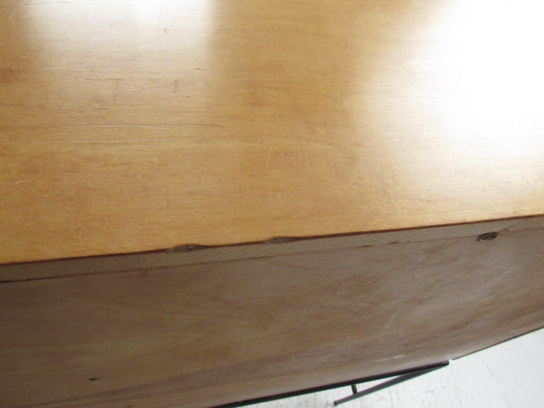 Stunning Midcentury Paul McCobb Planner Group Two-Piece Desk For Sale 8