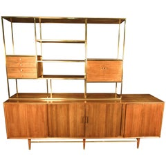 Stunning Midcentury Wall Unit by Furnete