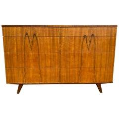 Stunning Midcentury 8 Drawer Rosewood Veneer Dresser Made in Sweden