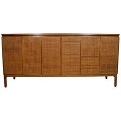 Stunning Midcentury Paul McCobb Calvin 8 Drawer Dresser Credenza #7707 Cane