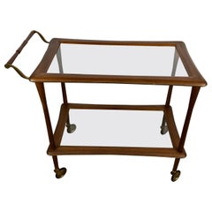 Stunning Modernist Bar Trolley by Cesare Lacca, Italy