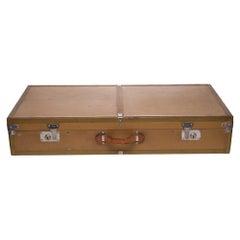 Stunning MOYNAT Suitcase in beige monogram canvas