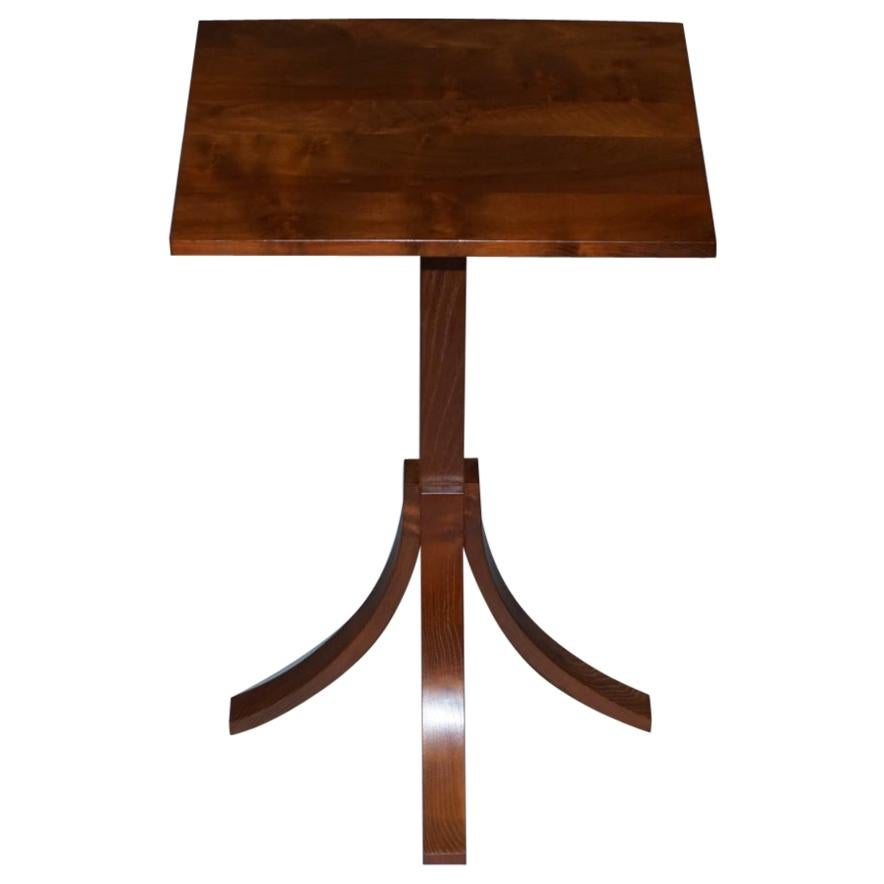 Stunning Mulberry Furniture Made by Holgate & Pack Designer Walnut Side Table