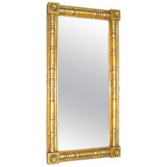 Neoclassical Gold Gilt Mantle Mirror