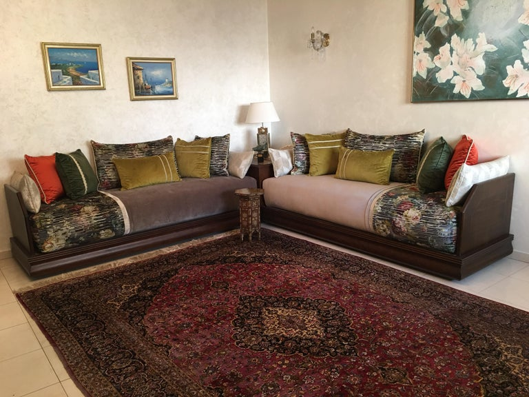 Stunning One of a Kind Moroccan Living Room Salon