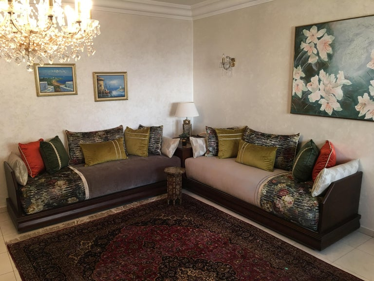 Stunning one of a kind moroccan living room salon for sale - Moroccan living room furniture for sale ...