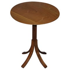 Stunning Original Holgate and Pack Designer Walnut Side Table Elegantly Crafted