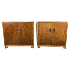 Stunning Pair Modernist Chests by Michael Taylor for Baker, Far East Collection