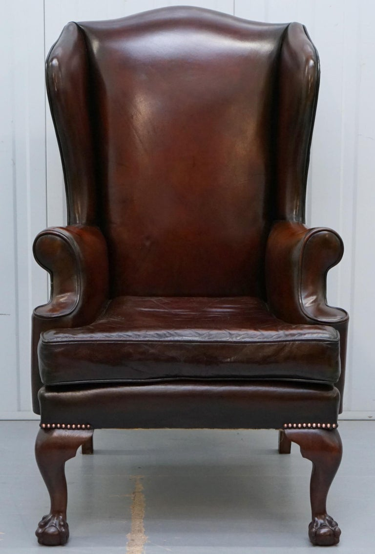 Stunning Pair of Fully Restored Claw and Wingback Cigar ...