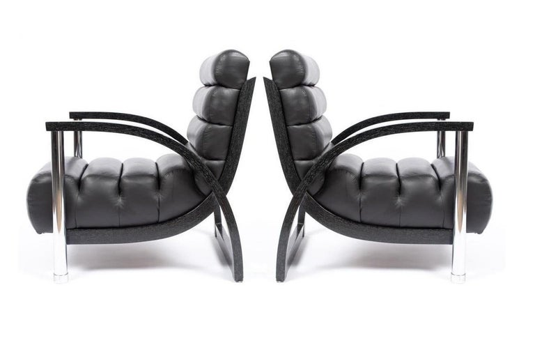 Sumptuous and sleek pair of