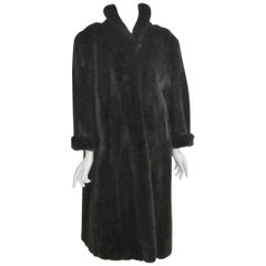 Stunning  Ranch Mink Fur Coat Med - Large Soft Supple