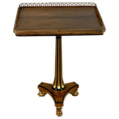 Stunning Regency Style Gilt Bronze Side Table, Althorp, by Theo Alexander