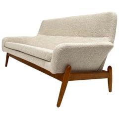Stunning Restored Danish 3 Seat Sofa Madsen & Schubell Bovenkamp DanskStil, 1963