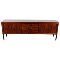 Stunning Rosewood Sideboard Designed by H.W. Klein for Bramin Mobler, Denmark