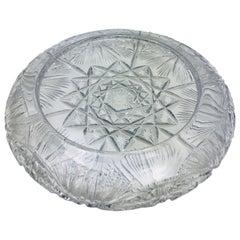 Saint-Louis Crystal Decorative Bowl