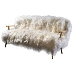 """Stunning Sheepskin Sofa Collection """"Alpina"""""""