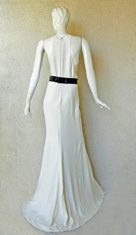 Black Stunning Stella McCartney Saskia Dress Gown   New! For Sale