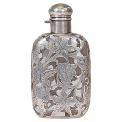 Stunning Sterling Silver Flask