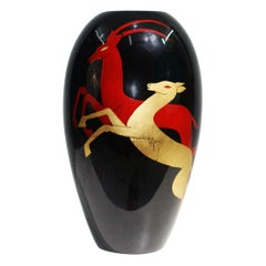 "Stunning Vase Signed by ""Bonega - Paris"" and ""Christian Dior"""