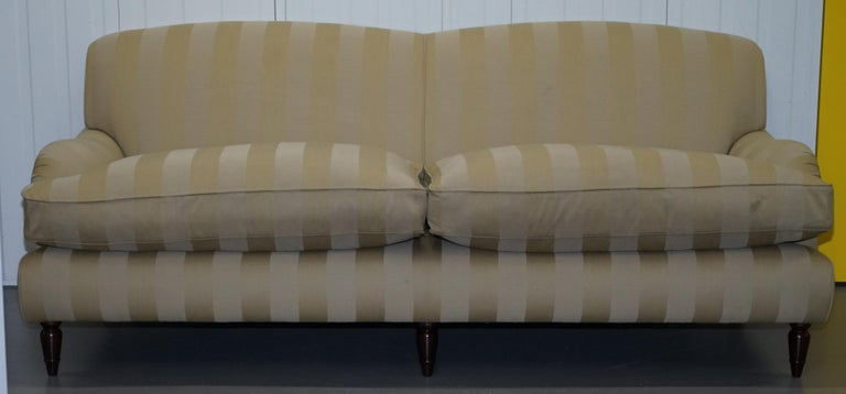 Stunning Wesley Barrell England Howard Sofa Pair of ...