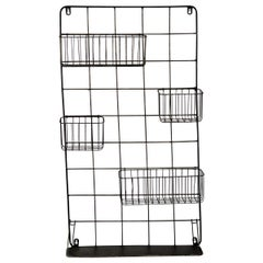Sturdy Wire Wall Organiser, 20th Century