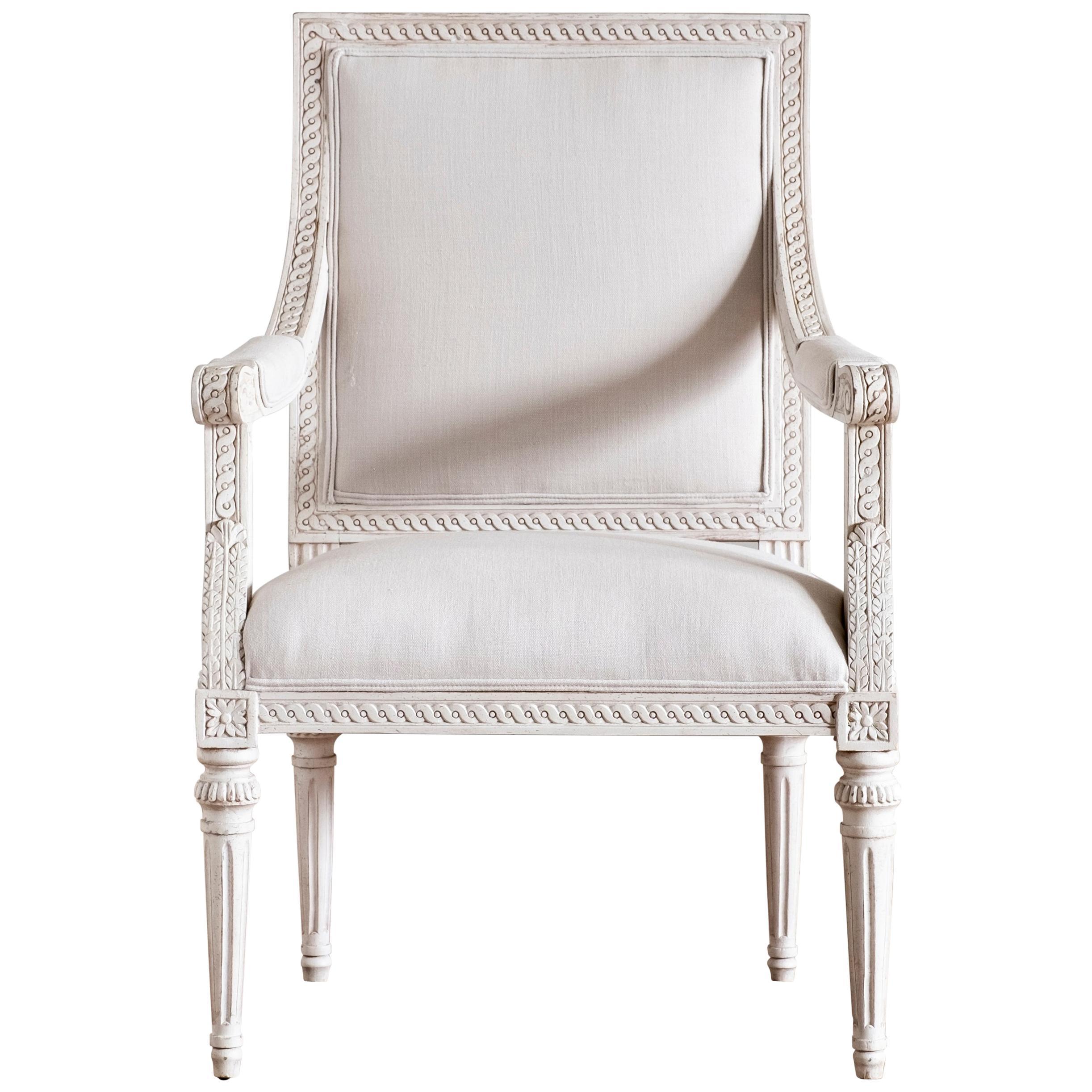 Sturehov, Gustavian Style Armchair