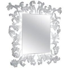Sturm und Drang Rectangular Mirror with LED, by Piero Lissoni for Glas Italia