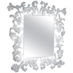 Sturm und Drang Square Mirror with LED, by Piero Lissoni for Glas Italia