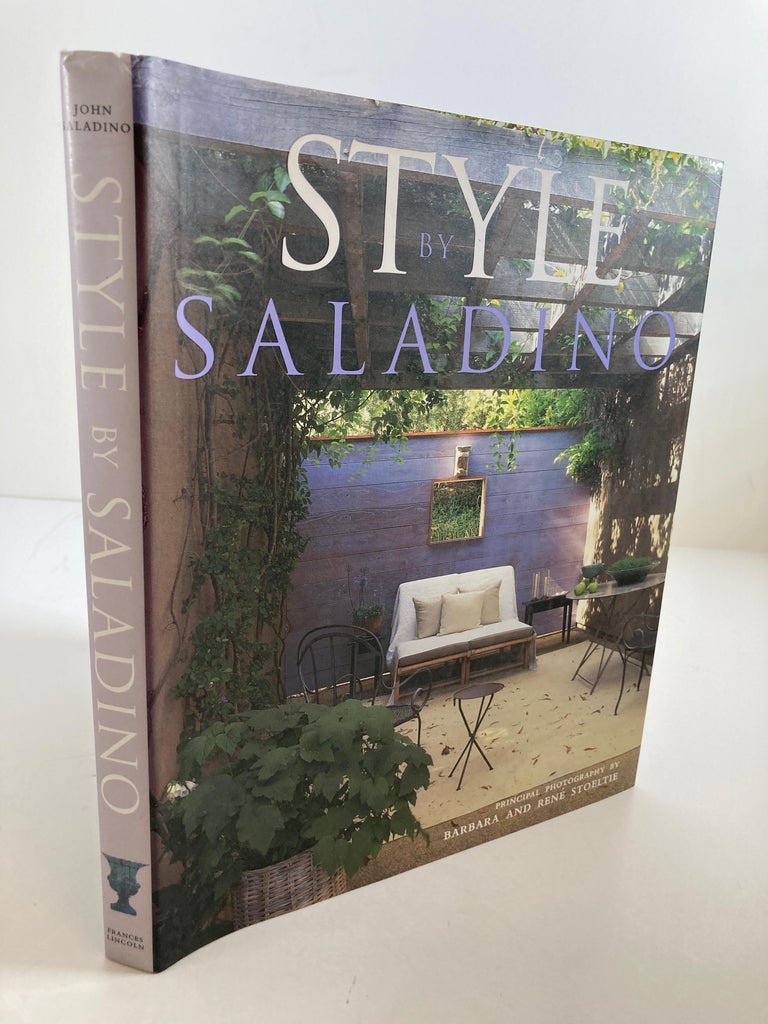 Style by John Saladino, Design, decor and architecture book, First Edition, 2000. Architecture · Hardcover Book · 207 page John Saladino is one of the world's most respected interior designers. His design principles are rooted in clasical