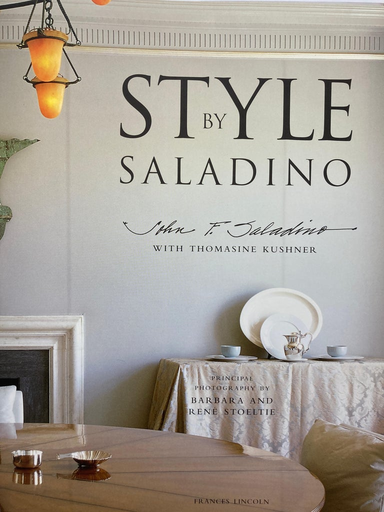 Style by John Saladino, Design, Decor and Architecture Coffee Table Book In Good Condition In North Hollywood, CA
