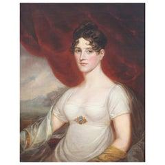 "Style of Godfrey Kneller '19th Century' ""Elizabeth Holland"""