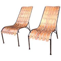 Style of Hans Brattrud Lounge Chairs