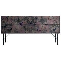 Style Purple Bird Sideboard 101