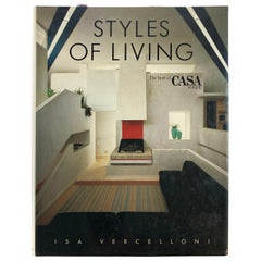 Styles of Living The Best of Casa Vogue Vercelloni, Isa Coffee Table Book