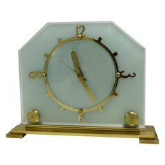 Stylish 1930s Art Deco Mantle Clock by Goblin
