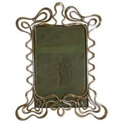 Stylish Antique English Art Nouveau Photograph / Picture Frame, circa 1890-1900