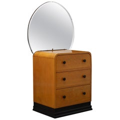 Stylish Art Deco Dressing Chest of Diminutive Proportions
