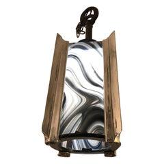 Stylish Art Deco Pendant Lantern Chandelier