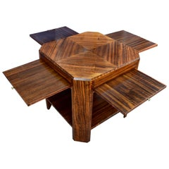 Stylish Art Deco Walnut Book Table, circa 1930